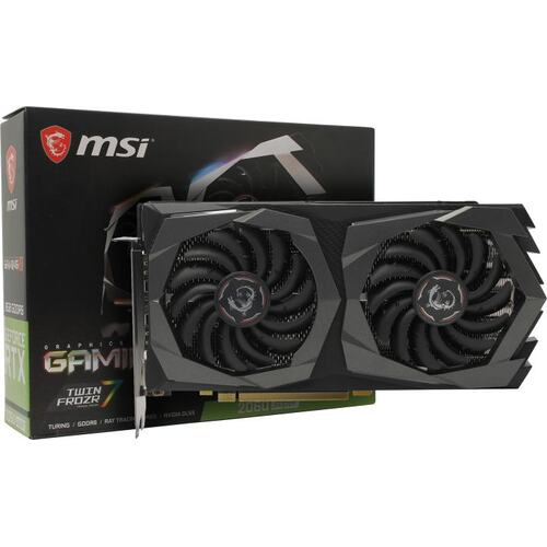 Видеокарта MSI GeForce<sup>®</sup> RTX 2060 SUPER OC GAMING X 8 Гб GDDR6